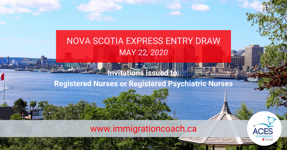 nova scotia express entry draw