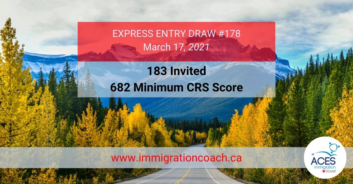 Express Entry Draw FB_#178Mar172021