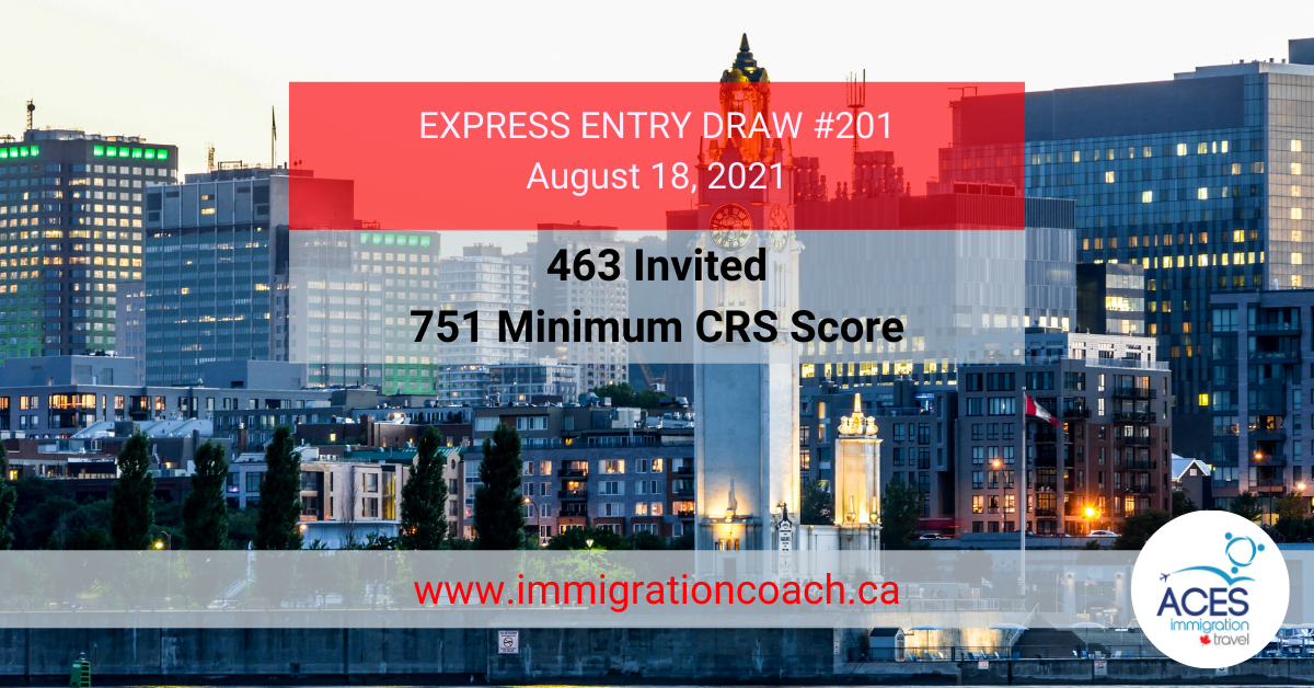 Express Entry Draw FB #201